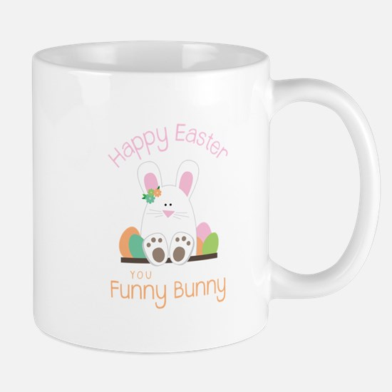 Happy Easter you funny Bunny Mugs