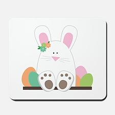 Sittin' Bunny Mousepad
