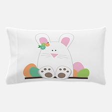 Sittin' Bunny Pillow Case