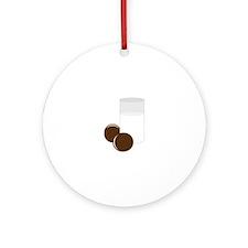 Milk Cookies Ornament (Round)