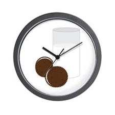 Milk Cookies Wall Clock