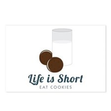 Life is Short Postcards (Package of 8)