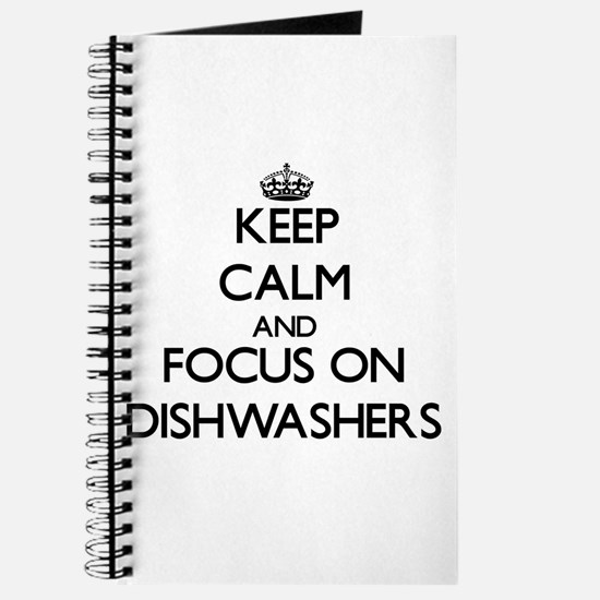 Cute Dishwasher Journal