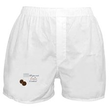 Love & Cookies Boxer Shorts