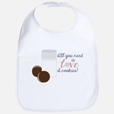 Love & Cookies Bib