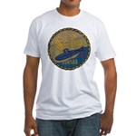USS SCAMP Fitted T-Shirt