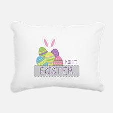 Happy EASTER Rectangular Canvas Pillow