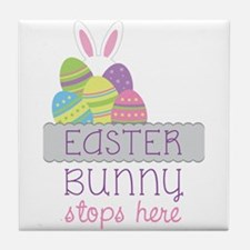 EASTER BUNNY Tile Coaster