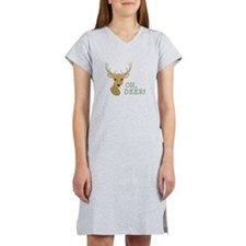 Oh, Deer! Women's Nightshirt