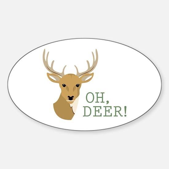 Oh, Deer! Decal