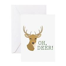 Oh, Deer! Greeting Cards