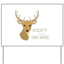 Deer Hunter Yard Sign