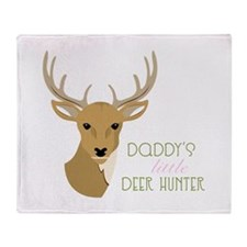 Deer Hunter Throw Blanket