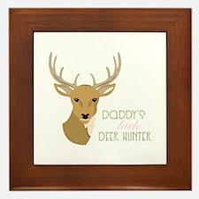 Deer Hunter Framed Tile