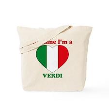 Verdi, Valentine's Day Tote Bag