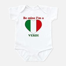 Verdi, Valentine's Day Infant Bodysuit