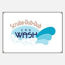 Scruba-Dub-Dub car wash Banner
