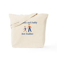 Benjamin & Daddy - Best Buddi Tote Bag