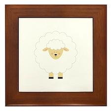 Lamb Framed Tile