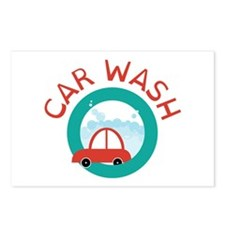 CAR WASH Postcards (Package of 8)
