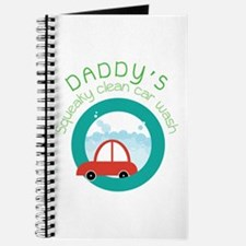 DADDY's Squeaky clean car wash Journal