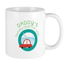 DADDY's Squeaky clean car wash Mugs