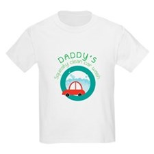 DADDY's Squeaky clean car wash T-Shirt