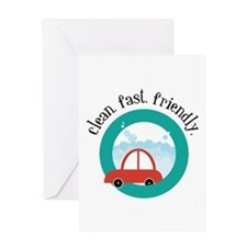 Clean, fast, Friendly Greeting Cards