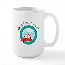 Clean, fast, Friendly Mugs