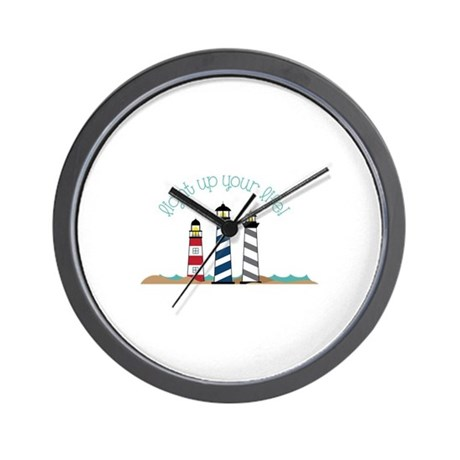 Light Up Your Life Wall Clock By Concord23
