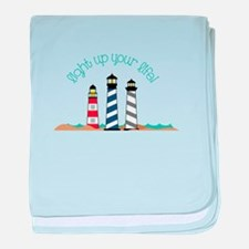 Light up your life baby blanket