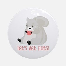 Let's Get Nuts! Ornament (Round)