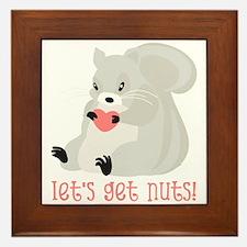 Let's Get Nuts! Framed Tile