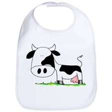Cute Cow Bib