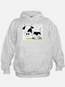 Unique Moo cow Hoodie