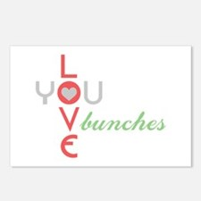 Love You Bunches Postcards (Package of 8)