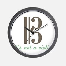 Its Not a violin Wall Clock