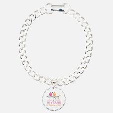 16th Custom Wedding Anni Bracelet