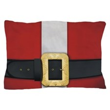 Santa Suit Christmas Pillow Case