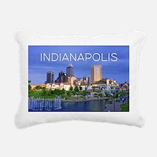 Cute Indiana Rectangular Canvas Pillow