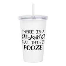 Cute Drinking Acrylic Double-wall Tumbler