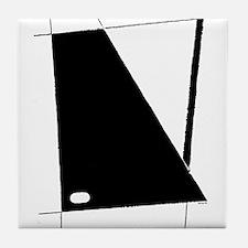 Modern Abstract Tile Coaster