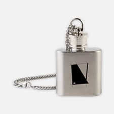 Modern Abstract Flask Necklace