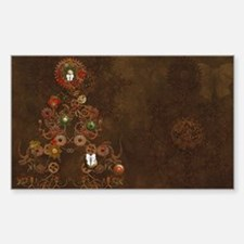 Steampunk Christmas Decal