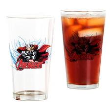 Thunder Thor Drinking Glass