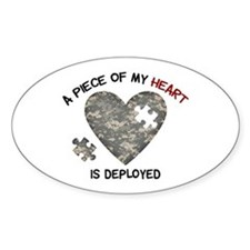 Puzzle Piece of My Heart Decal