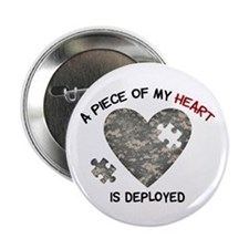 """Puzzle Piece of My Heart 2.25"""" Button"""