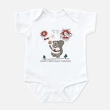 Happy Birthday Canada Infant Bodysuit