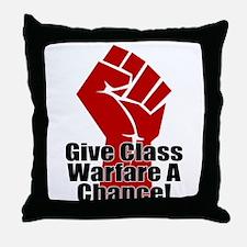 ClassWar Throw Pillow