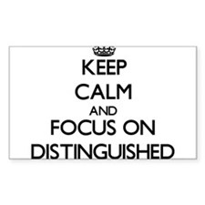Keep Calm and focus on Distinguished Decal